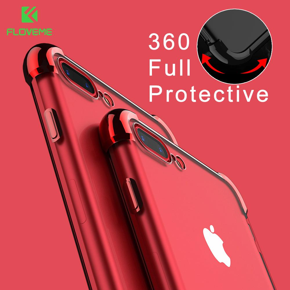 Case For iPhone 8 7 6 6S Full Protective Cover