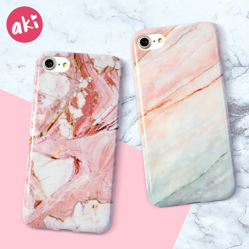 AKI Marble Phone Case for iPhone