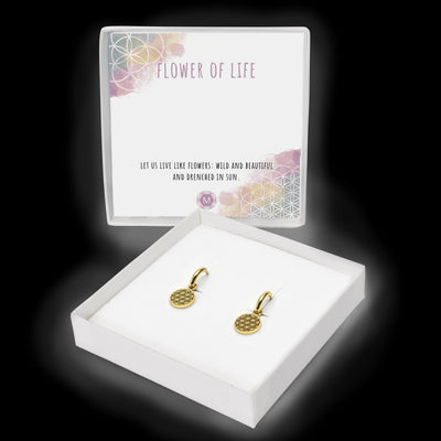 Flower of Life Hoops