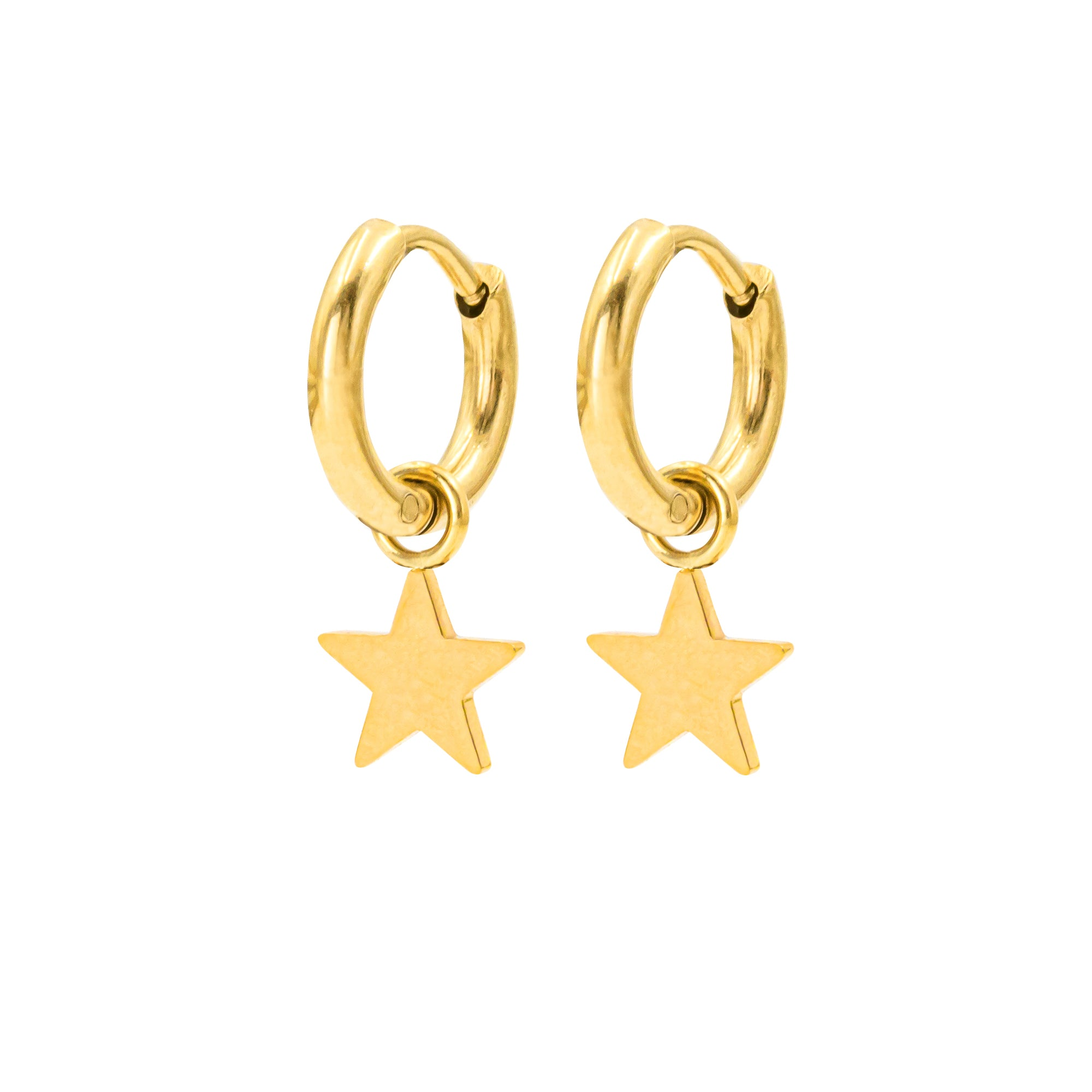 Shiny Star Hoops