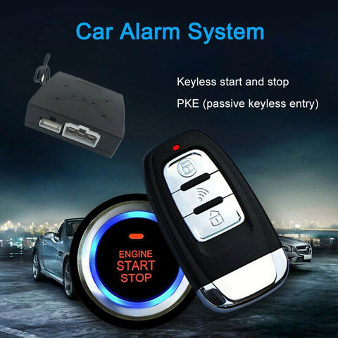 KEYLESS ENTRY & START/STOP система