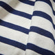 Mens Striped Breton Le T-Shirt Close Up