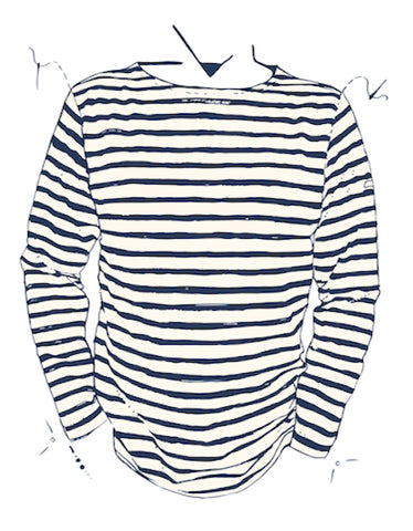 179c854eef The Original Breton Shirt | Men's Striped French Fishermans Top ...