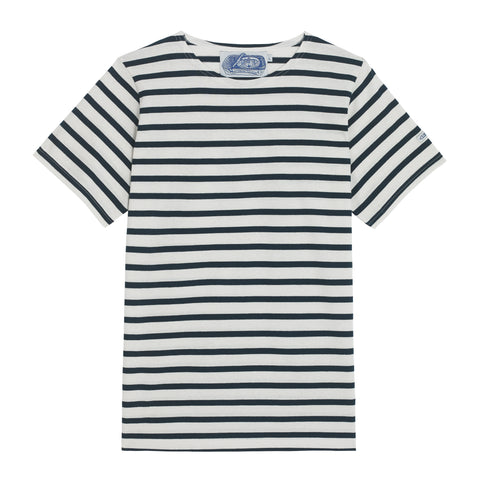 5b6cbe7c71 Men's Breton Blue and White Striped Sailor T-Shirt | Le T-Shirt ...