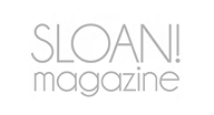 As featured in Sloan! Magazine