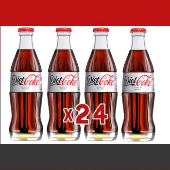 Click & Collect -  Diet Coca Cola 200ml (x24)