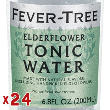Click & Collect - Fever-Tree Elderflower Tonic Water (x24)