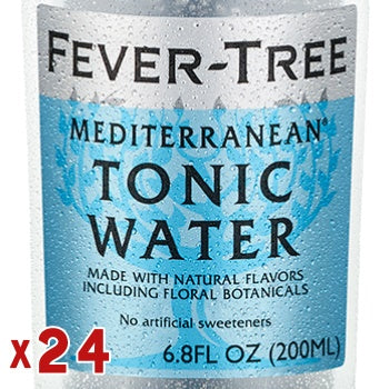 Click & Collect - Fever-Tree Mediterranean Tonic Water (x24)