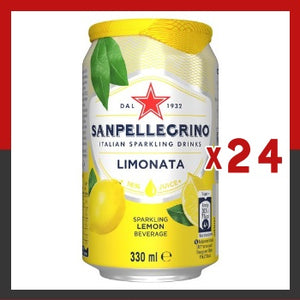 Click & Collect - Sanpellegrino Lemon 330ml Cans (x24)