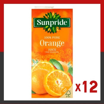 Click & Collect - Sunpride Orange Carton 1 Litre (x12)