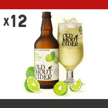 Click & Collect - Old Mout Cider Kiwi & Lime (x12)