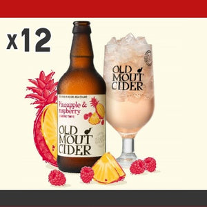 Click & Collect - Old Mout Cider Pineapple & Raspberry (x12)