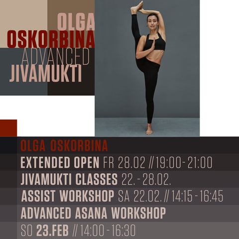 YOGA ASSIST WORKSHOP MIT OLGA OSKORBINA - Februar 2020