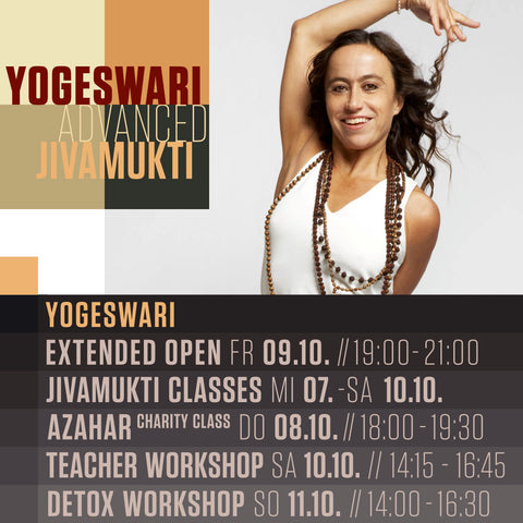 THE ART OF SEQUENCING with YOGESWARI - Oktober 2020