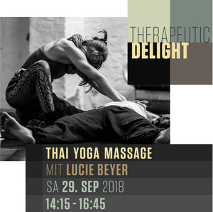 Therapeutic Delight Workshop mit Lucie