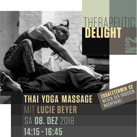 Therapeutic Delight Workshop mit Lucie - Dezember