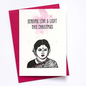 Weihnachtskarte Love & Light