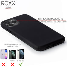 ROXX Apple iPhone 11 Pro Max Slim Case | Hardcase mit Innenschutz & Displayschutz
