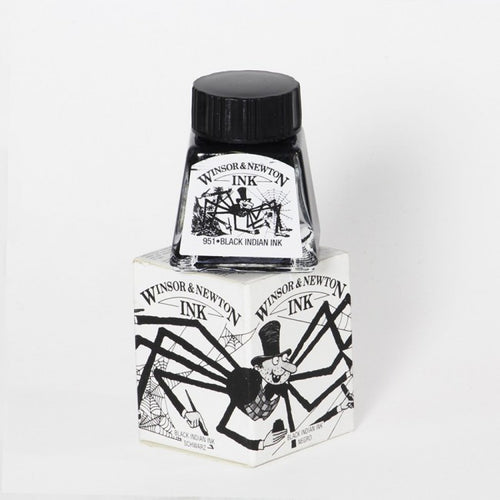 Winsor & Newton black indian Ink