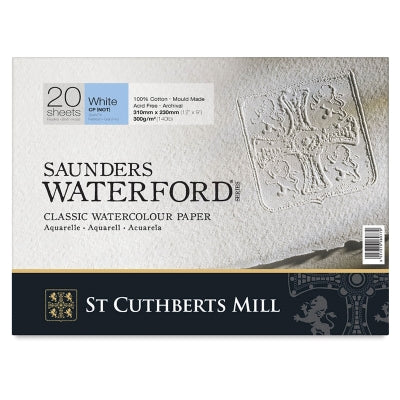 Saunders Waterford Coldpressed Akvarelpapir 300 gram