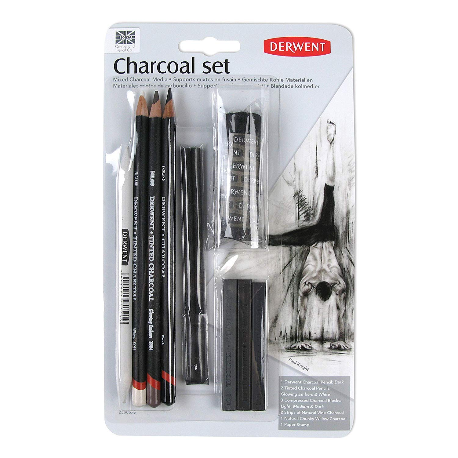 Derwent Charcoal Set