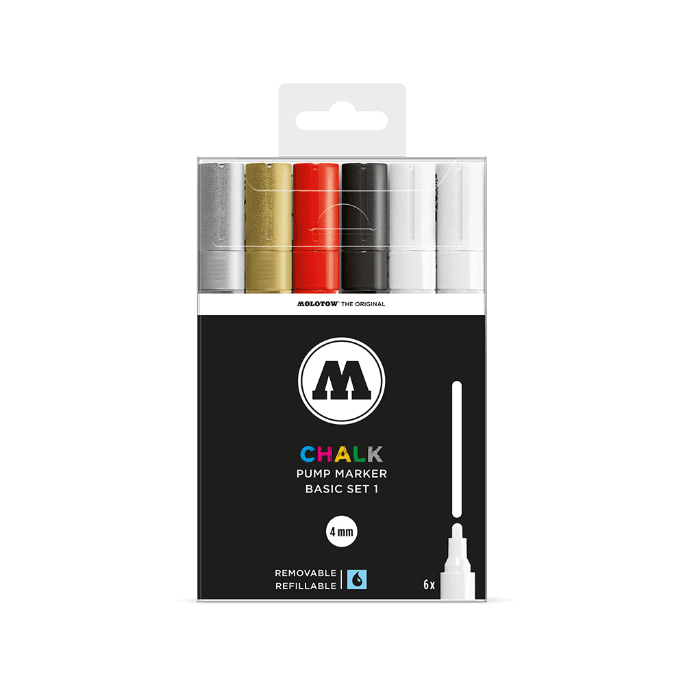Molotow Chalk Markers i sæt