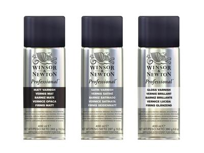 Winsor & Newton Professional Varnish Spray lak til Akryl og Olie