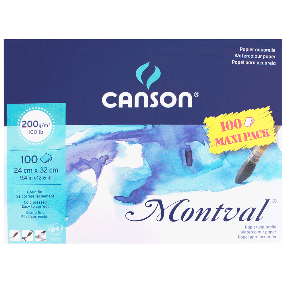 Canson Montval 200g MAXIPACK