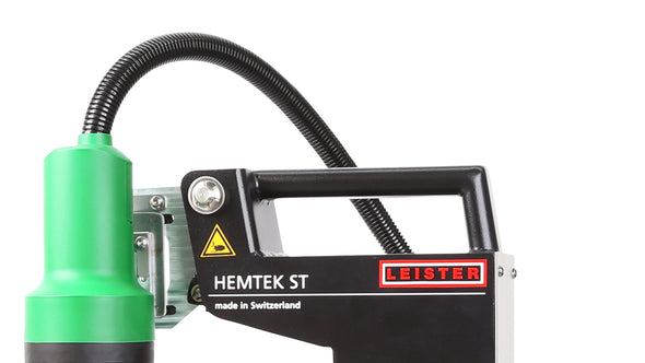 Leister Hemtek ST for flex banner welding