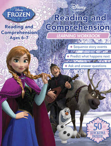 Disney Learning: Frozen- Reading & Comprehension Workbook (Ages 6-7)