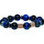 Blue Tigers Eye Aura Bracelet