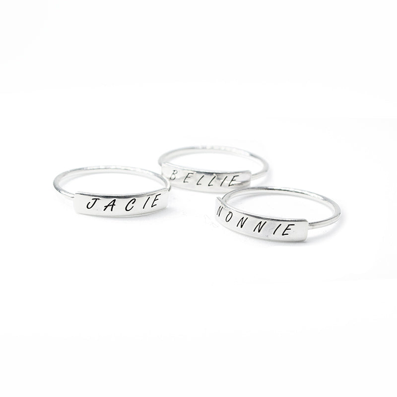 925 Silver Stack Rings
