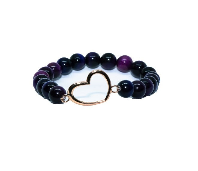 Purple Aura Bracelet