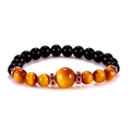 Tan Tigers Eye Aura Bracelet