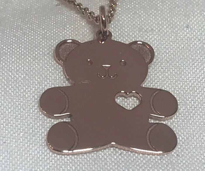 Teddy Rose Gold Pendant