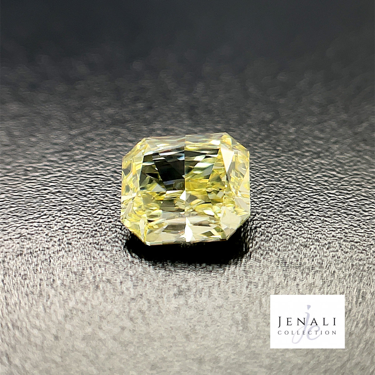 Cushion modified brilliant cut 0 56ct natural fancy deep orange yellow diamond