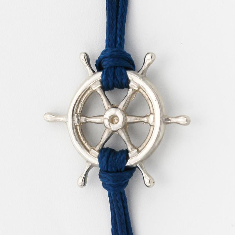 Nautical Wheel Charm Bracelet