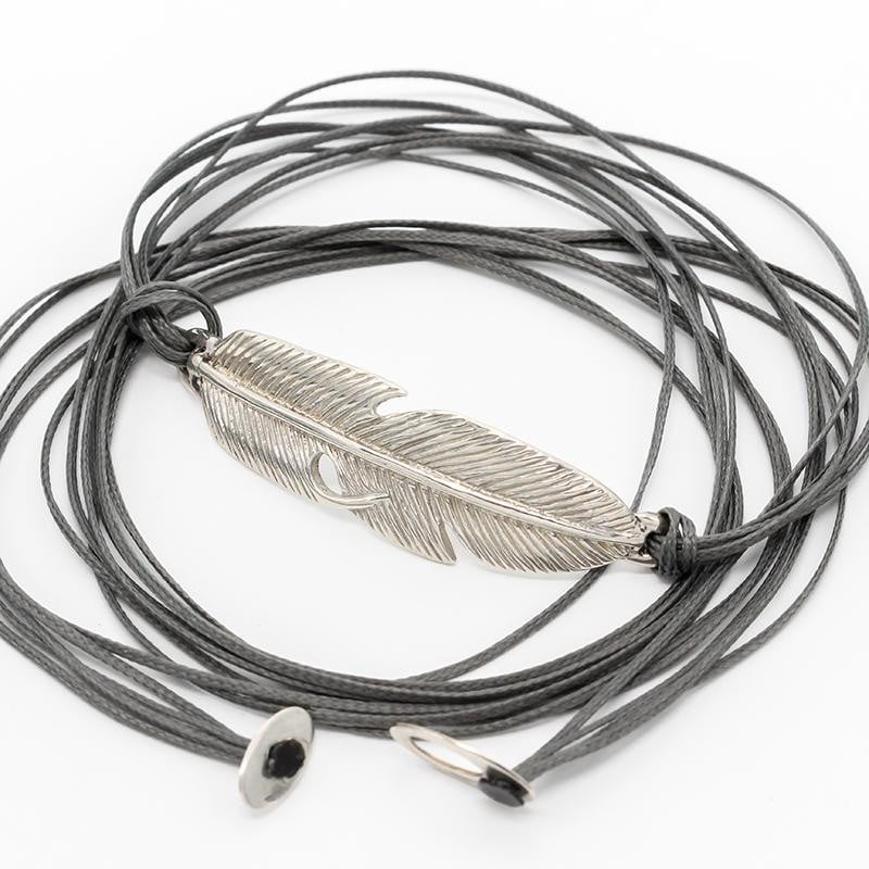 Feather Wrap Bracelet