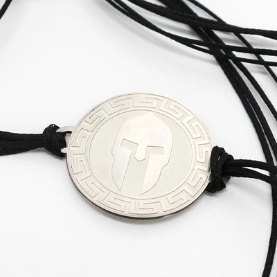 Men's Spartan Disc Bracelet