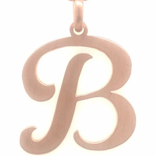 Rose gold ladies first Letter of their name