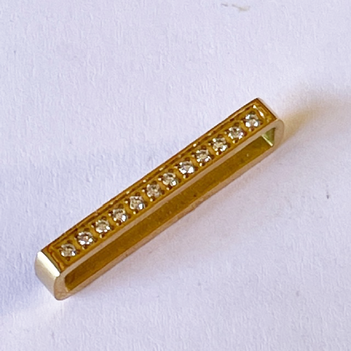 Yellow Gold Apple Watch Strap Charm