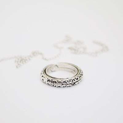Astrological Ring Pendant