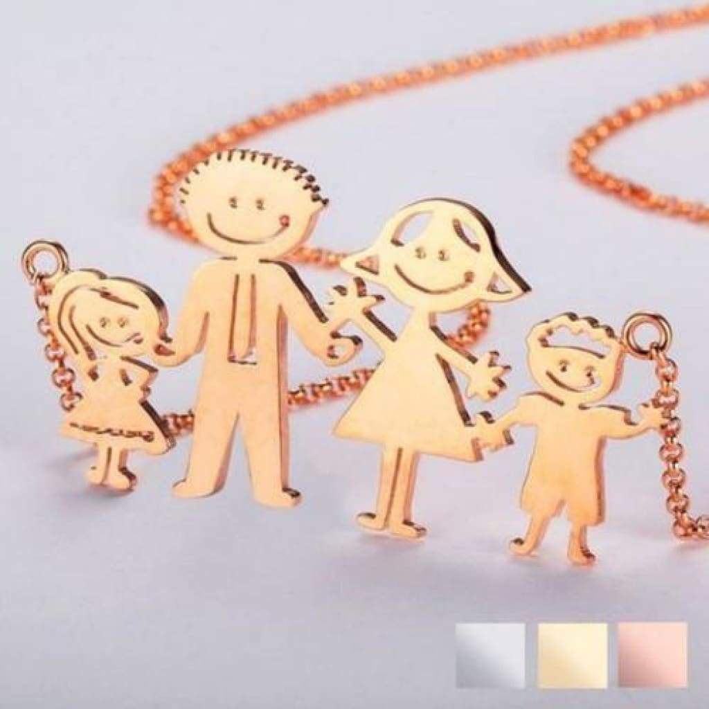 Kids Art Pendant and Necklace