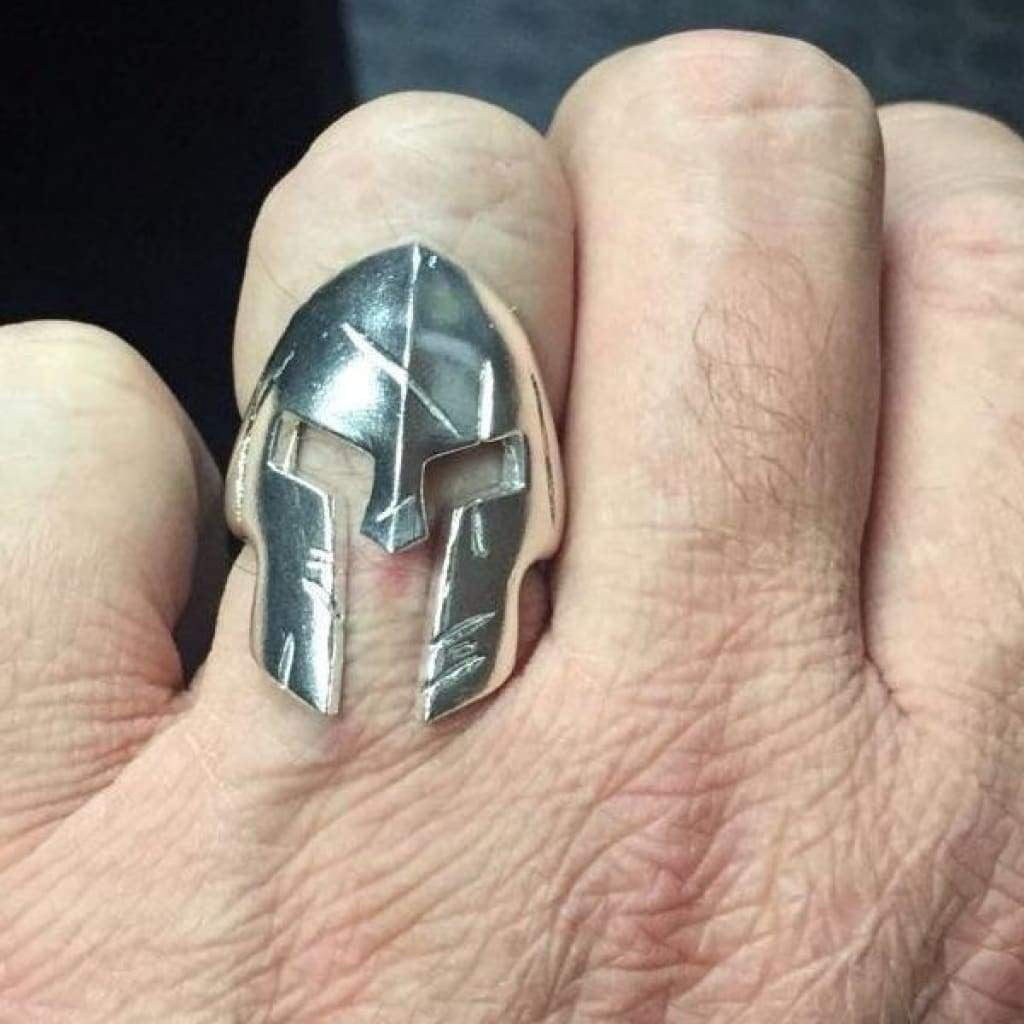 Spartan Sterling Silver Gents Ring Gents Rings