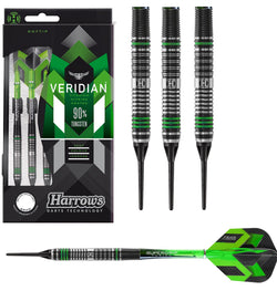 Harrows Veridian Soft Tip Darts