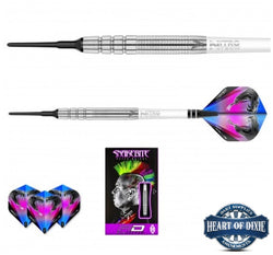 Red Dragon Peter Wright Snakebite PL15 Soft Tip Darts
