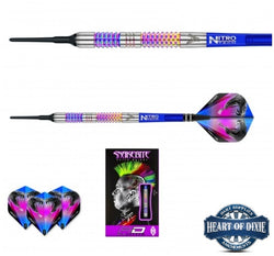 Red Dragon Peter Wright Rainbow Mamba Soft Tip Darts