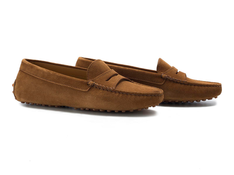Tabacco Brown Suede