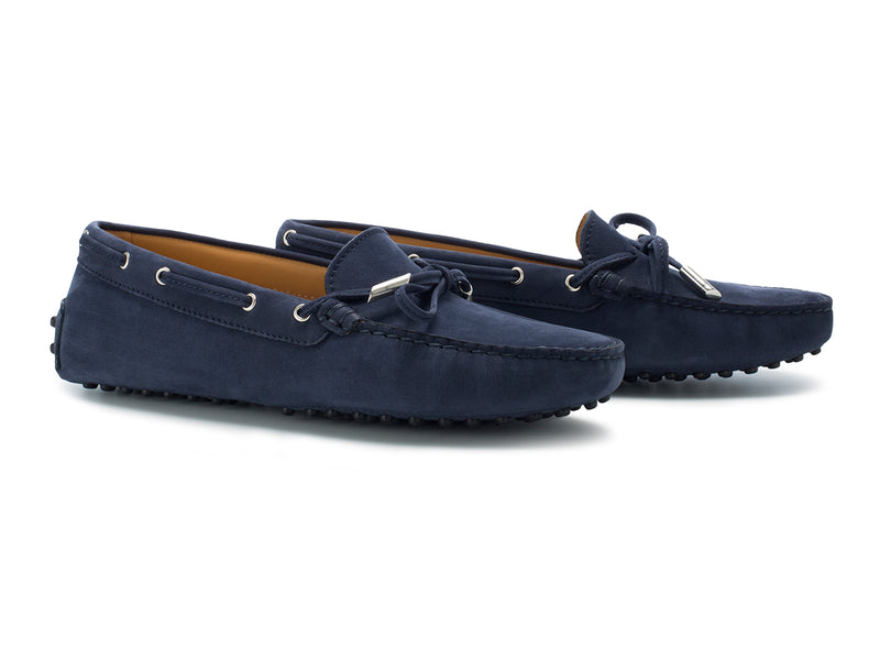 Navy Blue Nubuck