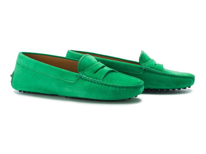 Green Suede